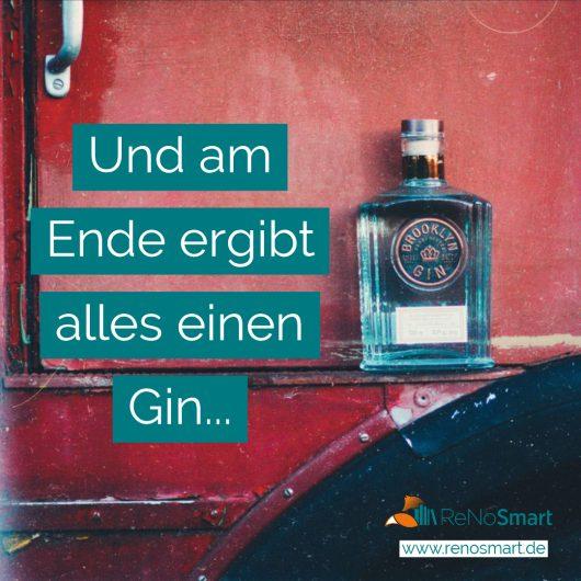 Und am Ende ergibt alles einen Gin…