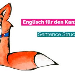 Kanzleienglisch: Sentence Structure