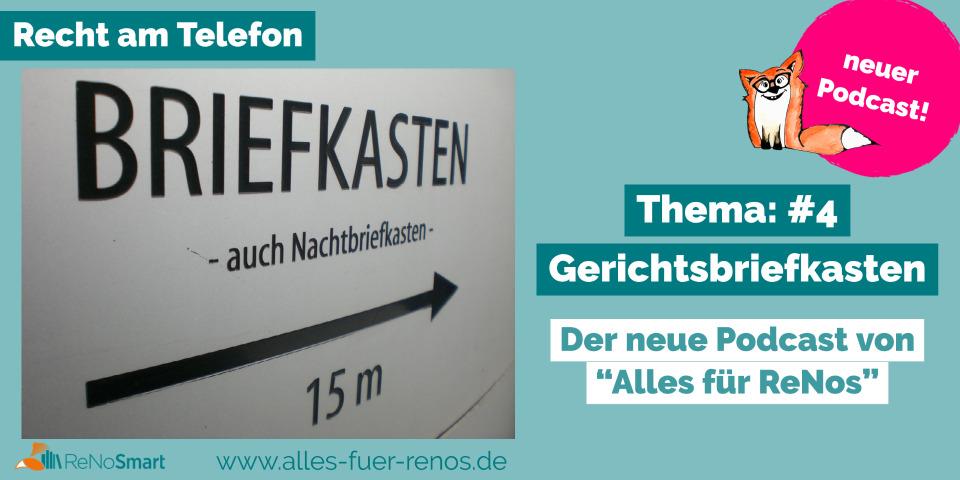 """""""Recht am Telefon"""": #4 Gerichtsbriefkasten"""