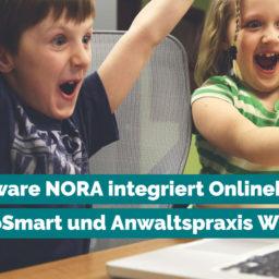 Kanzleisoftware NORA bietet mit Onlinebibliotheken ReNoSmart und Anwaltspraxis Wissen Wissensvorsprung