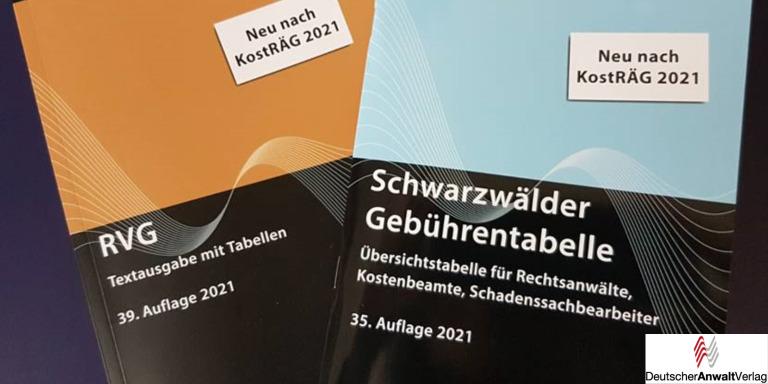 Seit heute: Die ersten gedruckten, neuen Gebührentabellen lieferbar